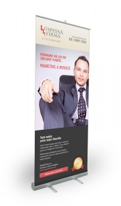 rollup, roll-up, roll up banner